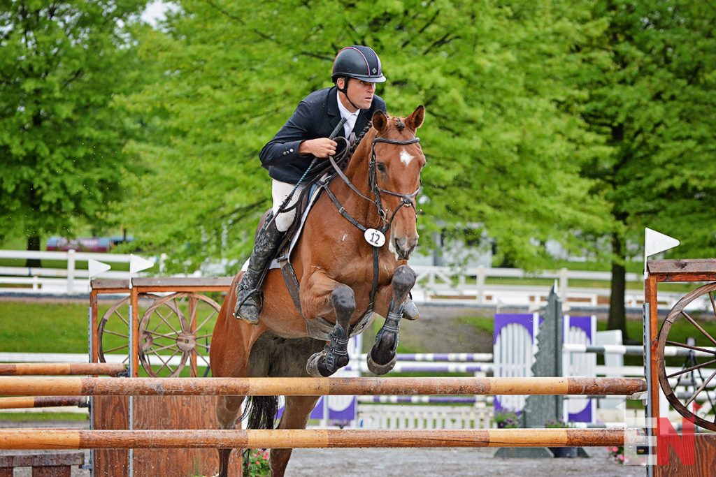 Boyd Martin & On Cue  Photo by Jenni Autry